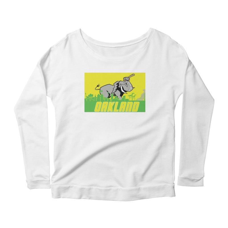 Oakland Women's Longsleeve T-Shirt by Mike Hampton's T-Shirt Shop