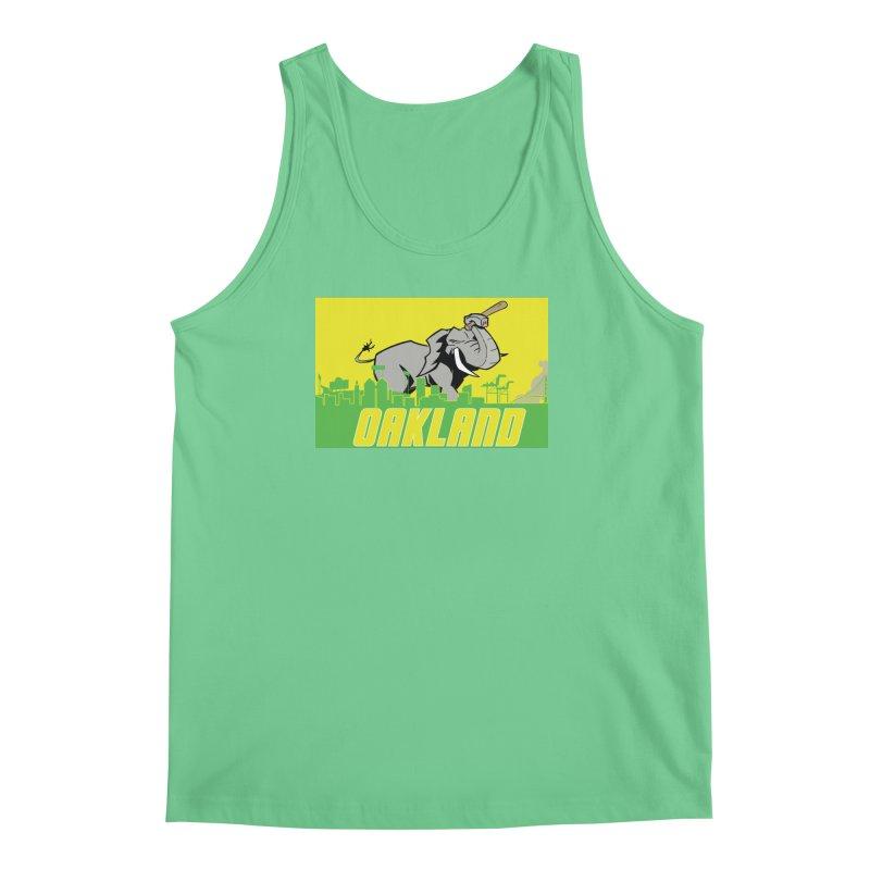Oakland Men's Regular Tank by Mike Hampton's T-Shirt Shop
