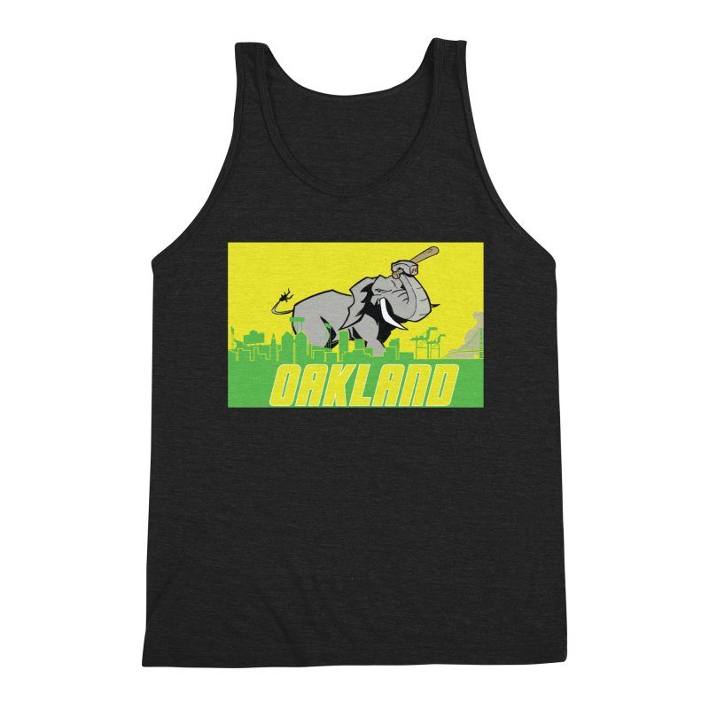 Oakland Men's Tank by Mike Hampton's T-Shirt Shop