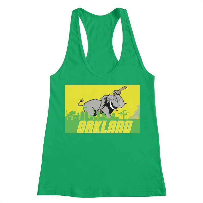 Oakland Women's Tank by Mike Hampton's T-Shirt Shop