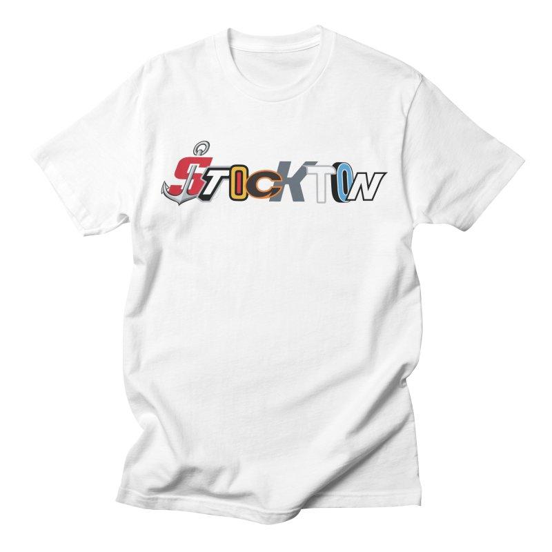 All Things Stockton Men's T-Shirt by Mike Hampton's T-Shirt Shop