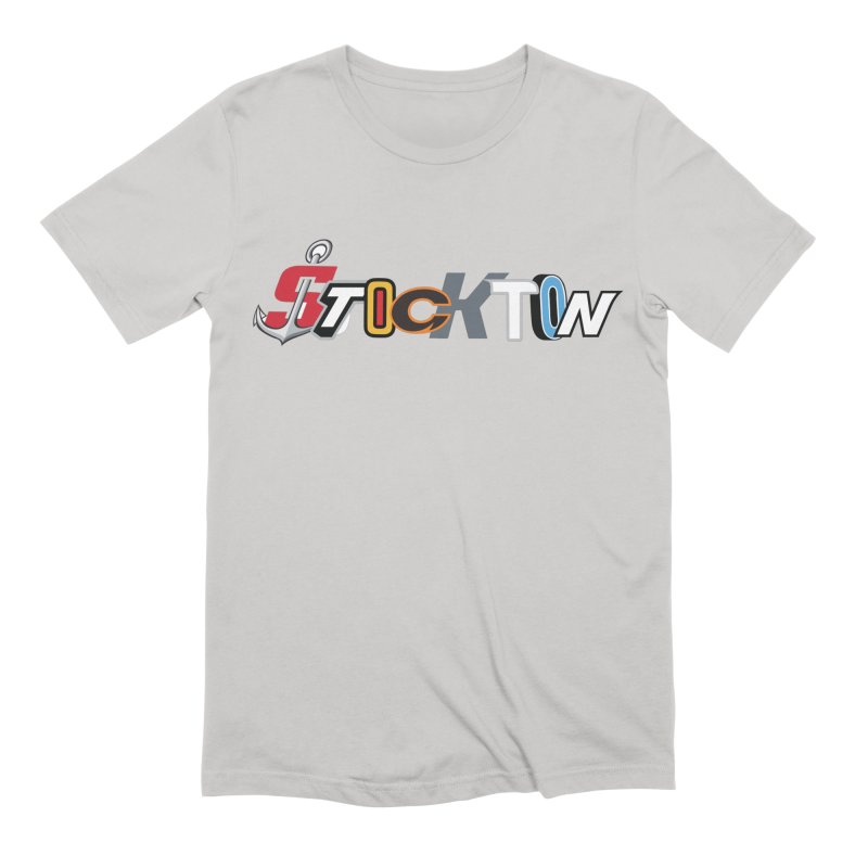 All Things Stockton Men's Extra Soft T-Shirt by Mike Hampton's T-Shirt Shop