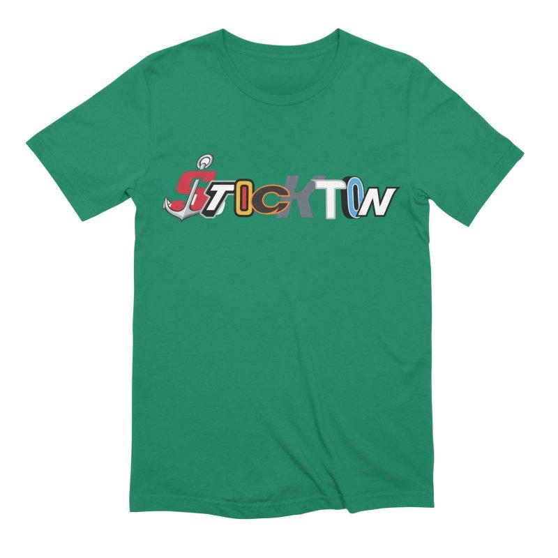 All Things Stockton Men's Extra Soft T-Shirt by Mike Hampton's T-Shirt Shop