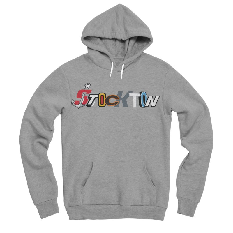 All Things Stockton Men's Sponge Fleece Pullover Hoody by Mike Hampton's T-Shirt Shop