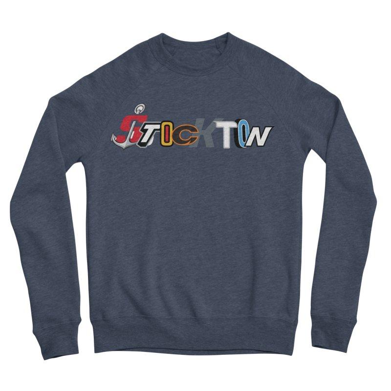 All Things Stockton Men's Sponge Fleece Sweatshirt by Mike Hampton's T-Shirt Shop