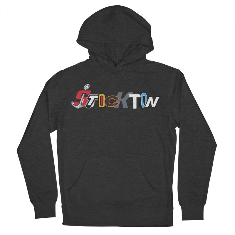 All Things Stockton Women's French Terry Pullover Hoody by Mike Hampton's T-Shirt Shop