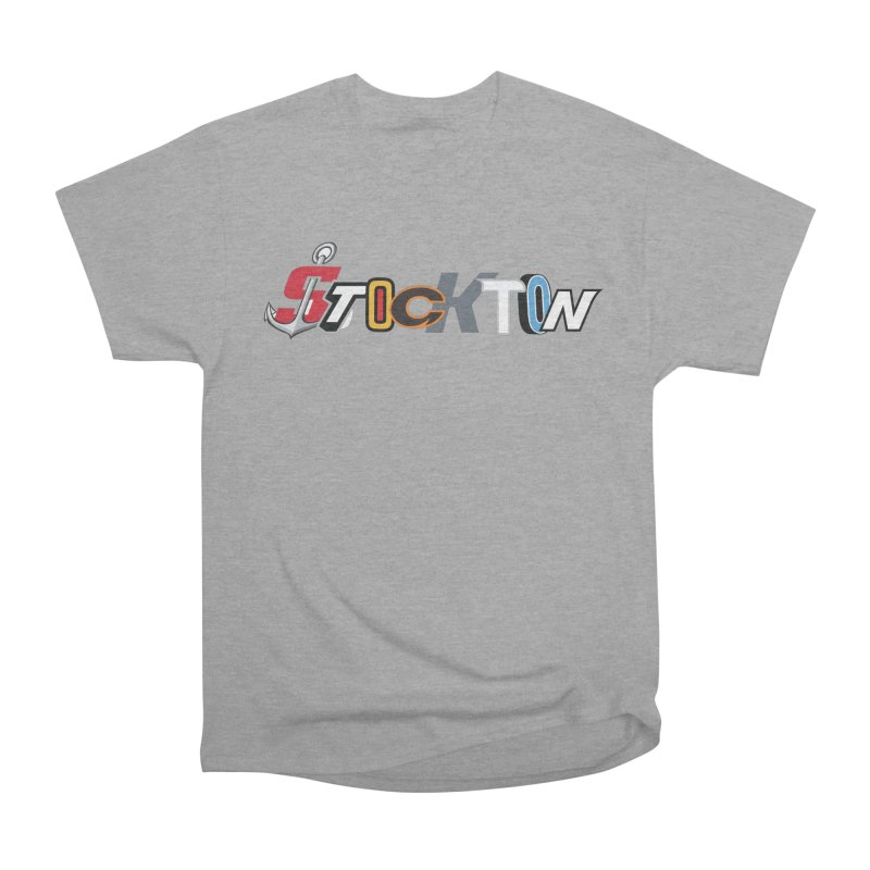 All Things Stockton Women's Heavyweight Unisex T-Shirt by Mike Hampton's T-Shirt Shop