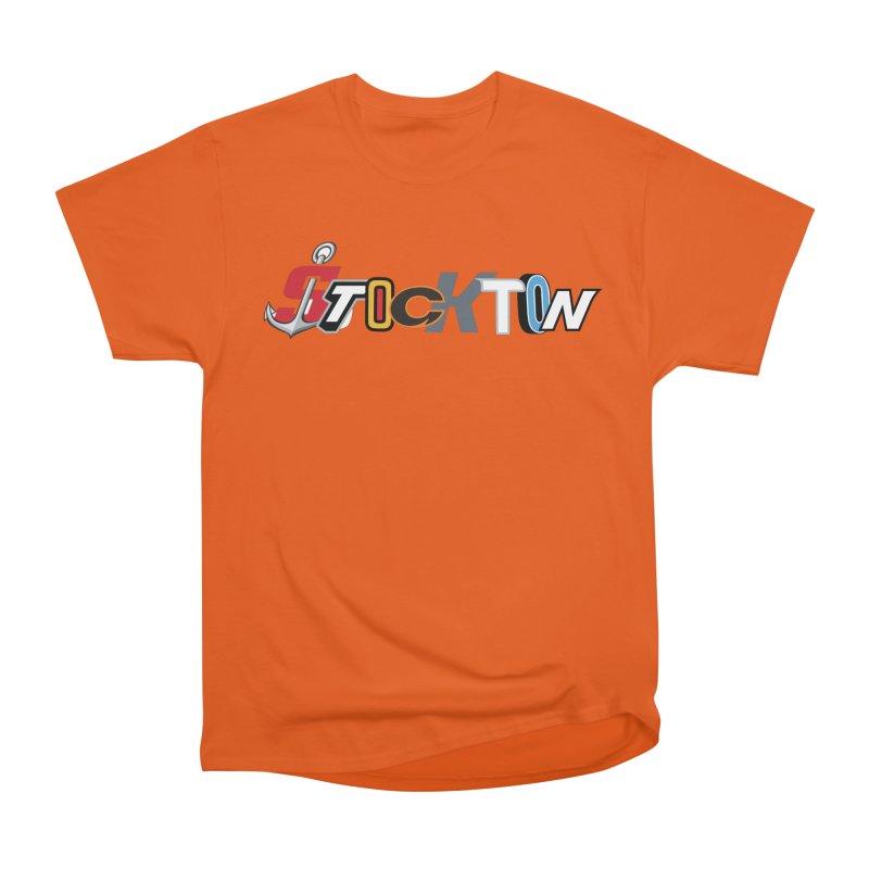 All Things Stockton Women's Heavyweight Unisex T-Shirt by Mike Hampton's T-Shirt Shop