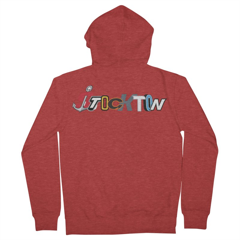 All Things Stockton Women's French Terry Zip-Up Hoody by Mike Hampton's T-Shirt Shop