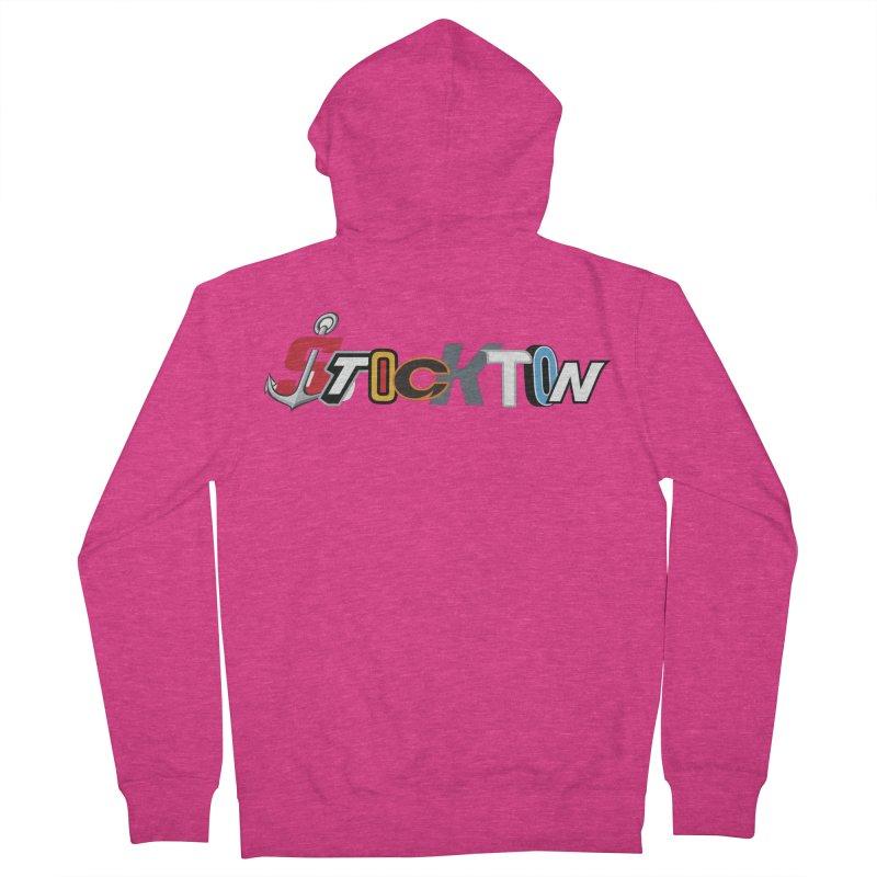 All Things Stockton Women's Zip-Up Hoody by Mike Hampton's T-Shirt Shop