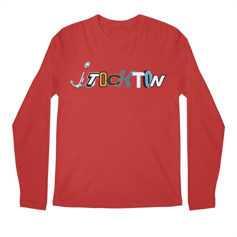 All Things Stockton Men's Longsleeve T-Shirt by Mike Hampton's T-Shirt Shop