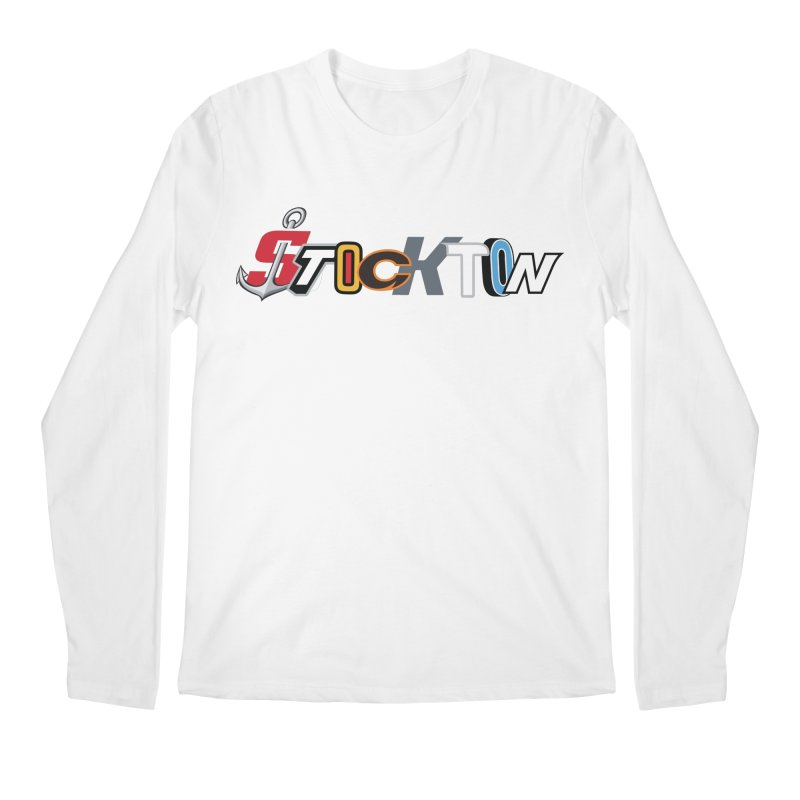 All Things Stockton Men's Longsleeve T-Shirt by Mike Hampton's T-Shirt Shop