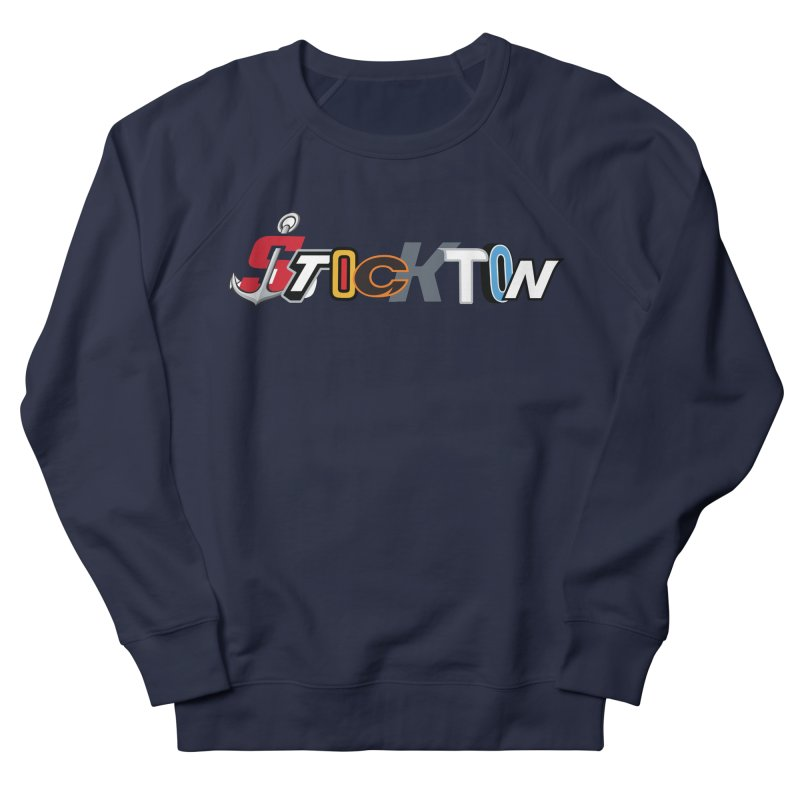 All Things Stockton Men's Sweatshirt by Mike Hampton's T-Shirt Shop