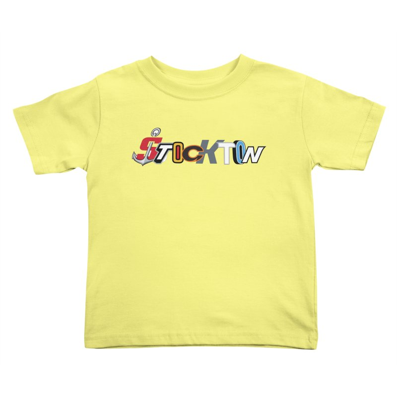 All Things Stockton Kids Toddler T-Shirt by Mike Hampton's T-Shirt Shop