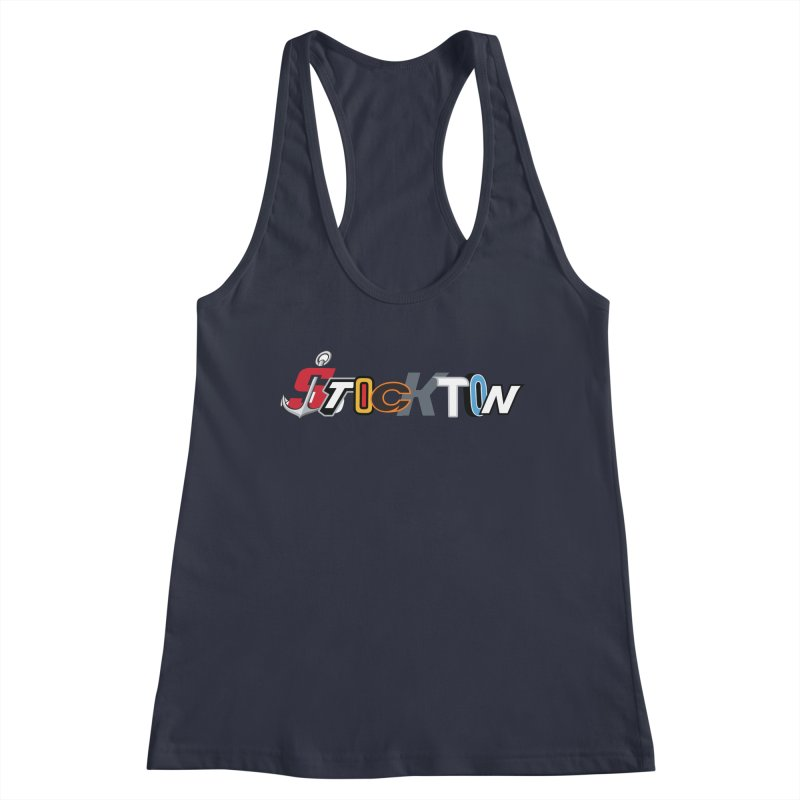 All Things Stockton Women's Tank by Mike Hampton's T-Shirt Shop