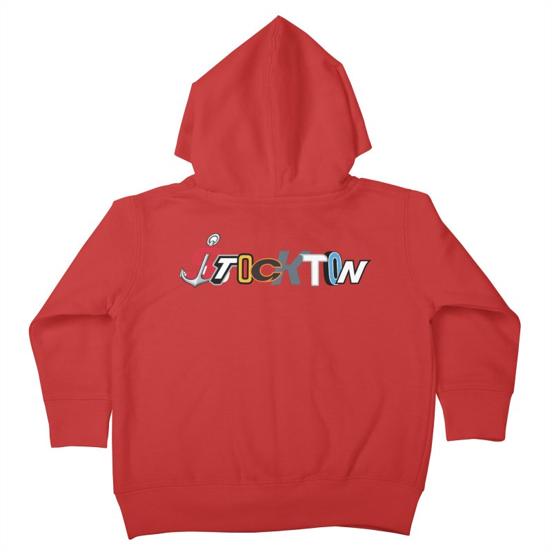 All Things Stockton Kids Toddler Zip-Up Hoody by Mike Hampton's T-Shirt Shop