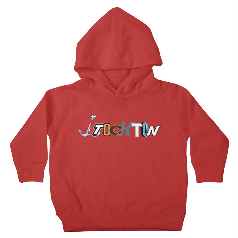 All Things Stockton Kids Toddler Pullover Hoody by Mike Hampton's T-Shirt Shop