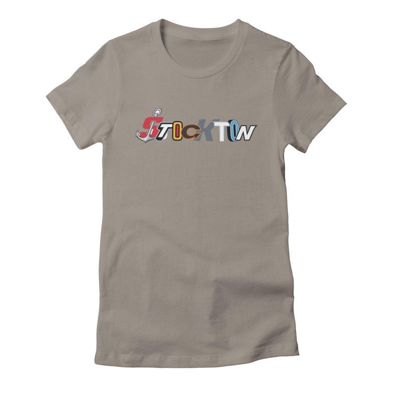 All Things Stockton Women's T-Shirt by Mike Hampton's T-Shirt Shop