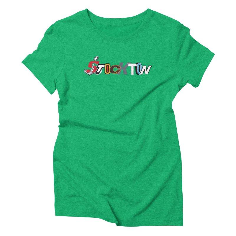 All Things Stockton Women's Triblend T-Shirt by Mike Hampton's T-Shirt Shop