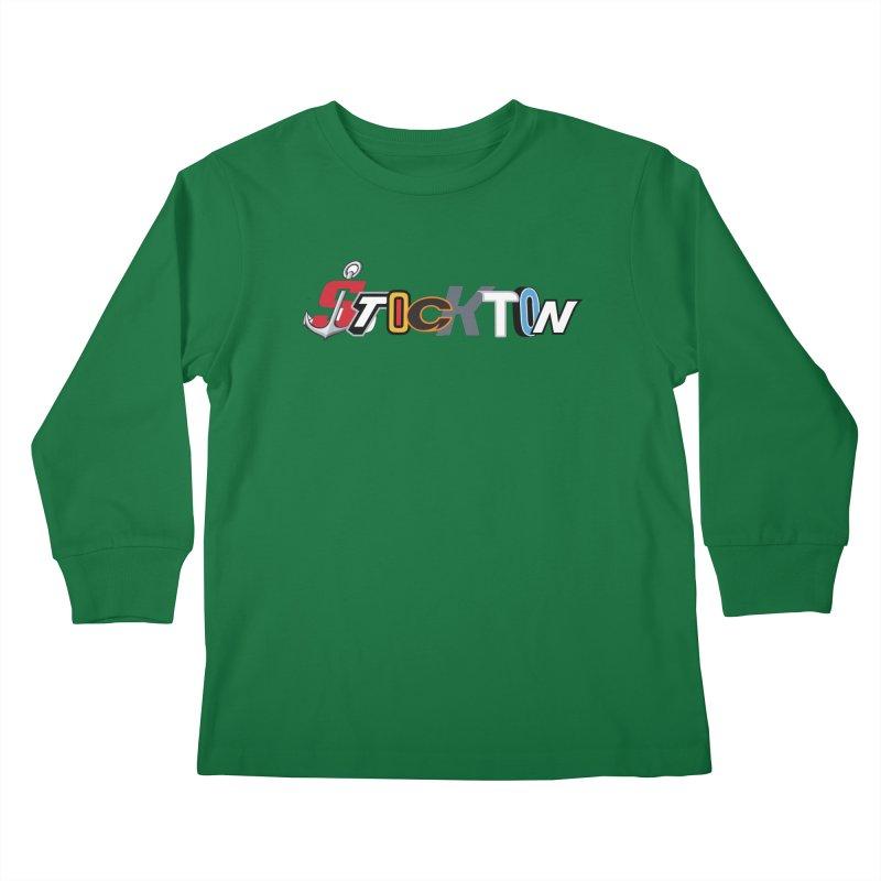 All Things Stockton Kids Longsleeve T-Shirt by Mike Hampton's T-Shirt Shop