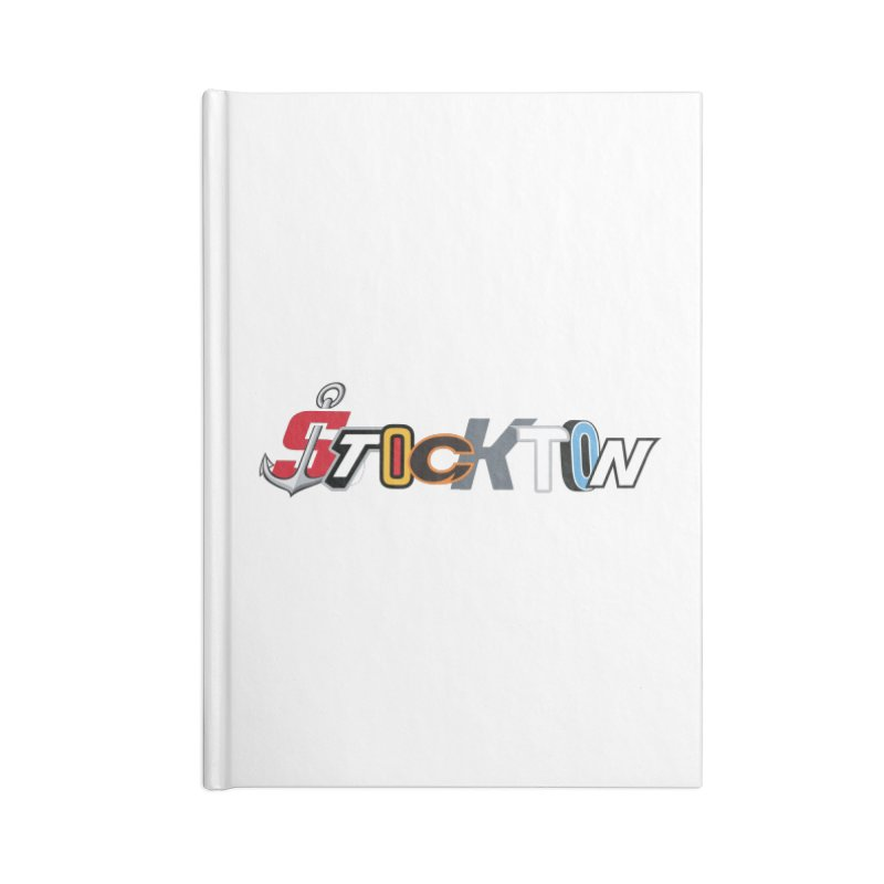 All Things Stockton Accessories Notebook by Mike Hampton's T-Shirt Shop