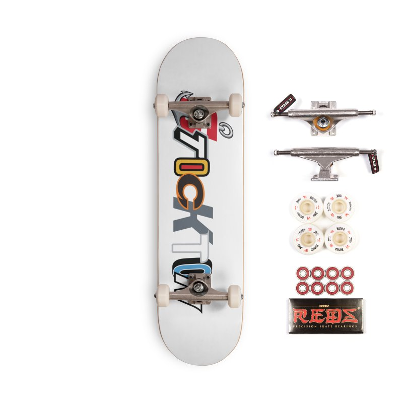 All Things Stockton Accessories Complete - Pro Skateboard by Mike Hampton's T-Shirt Shop