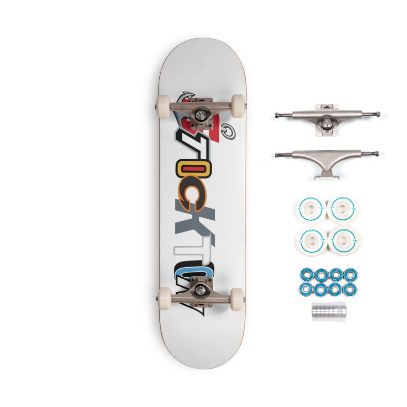 All Things Stockton Accessories Complete - Basic Skateboard by Mike Hampton's T-Shirt Shop