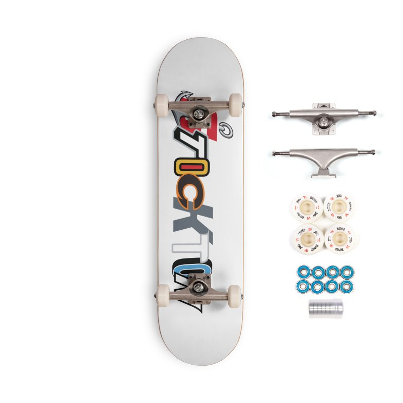 All Things Stockton Accessories Complete - Premium Skateboard by Mike Hampton's T-Shirt Shop