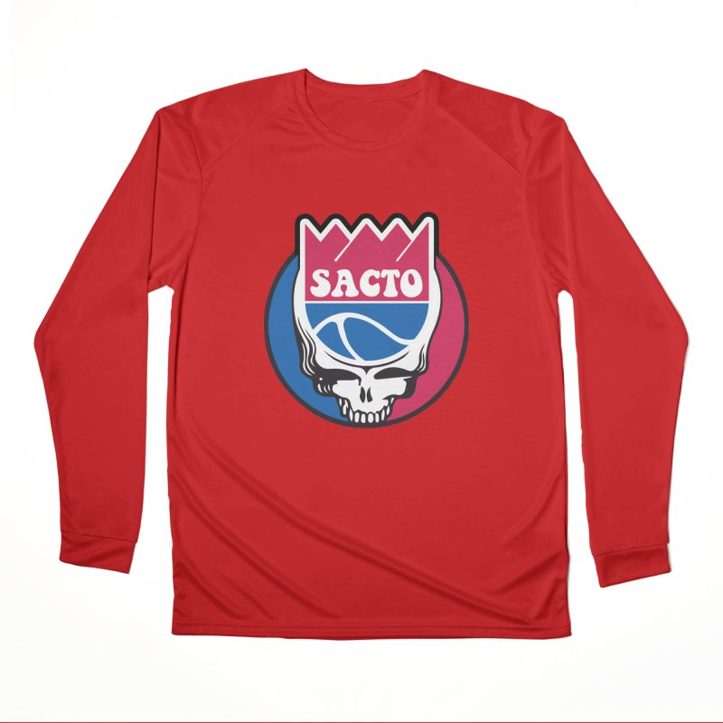 The Grateful Sacto Women's Performance Unisex Longsleeve T-Shirt by Mike Hampton's T-Shirt Shop