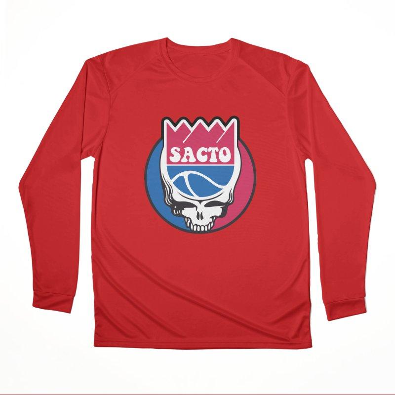 The Grateful Sacto Men's Performance Longsleeve T-Shirt by Mike Hampton's T-Shirt Shop