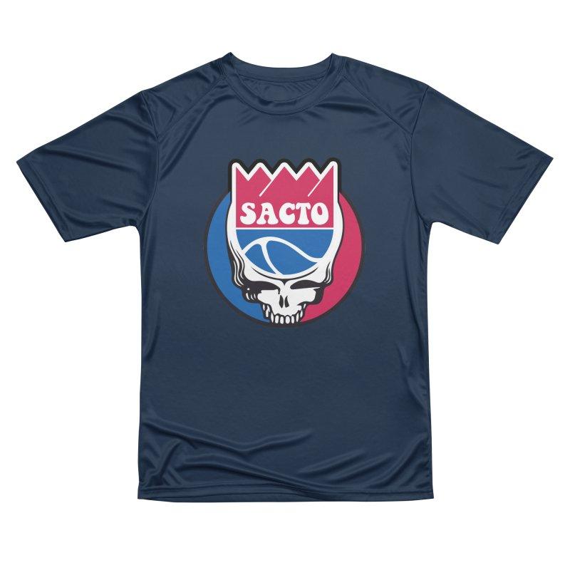 The Grateful Sacto Men's Performance T-Shirt by Mike Hampton's T-Shirt Shop