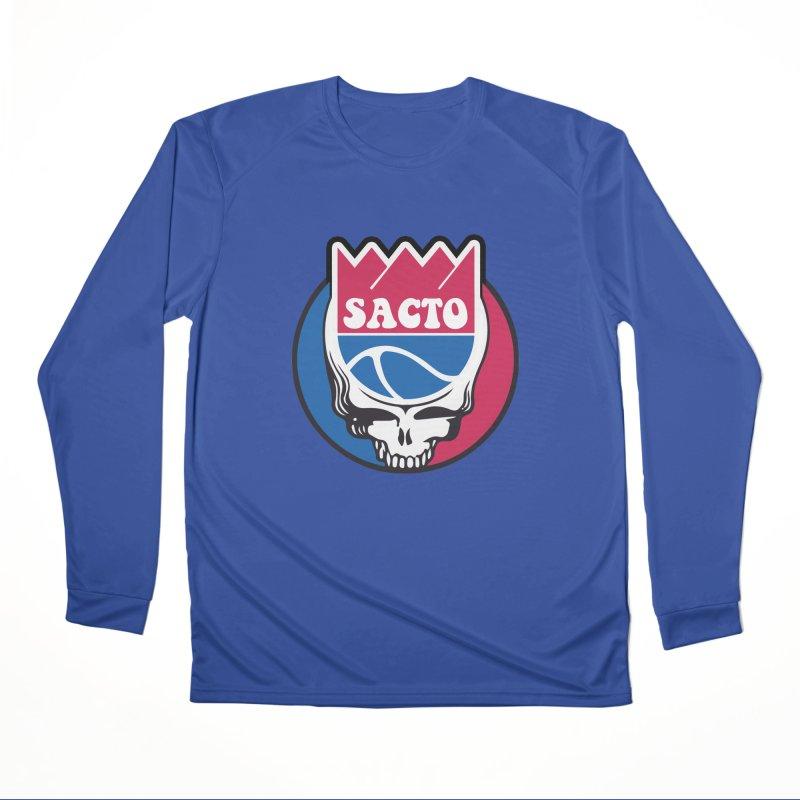 The Grateful Sacto Women's Performance Unisex Longsleeve T-Shirt by Mike Hampton's T-Shirt Shop