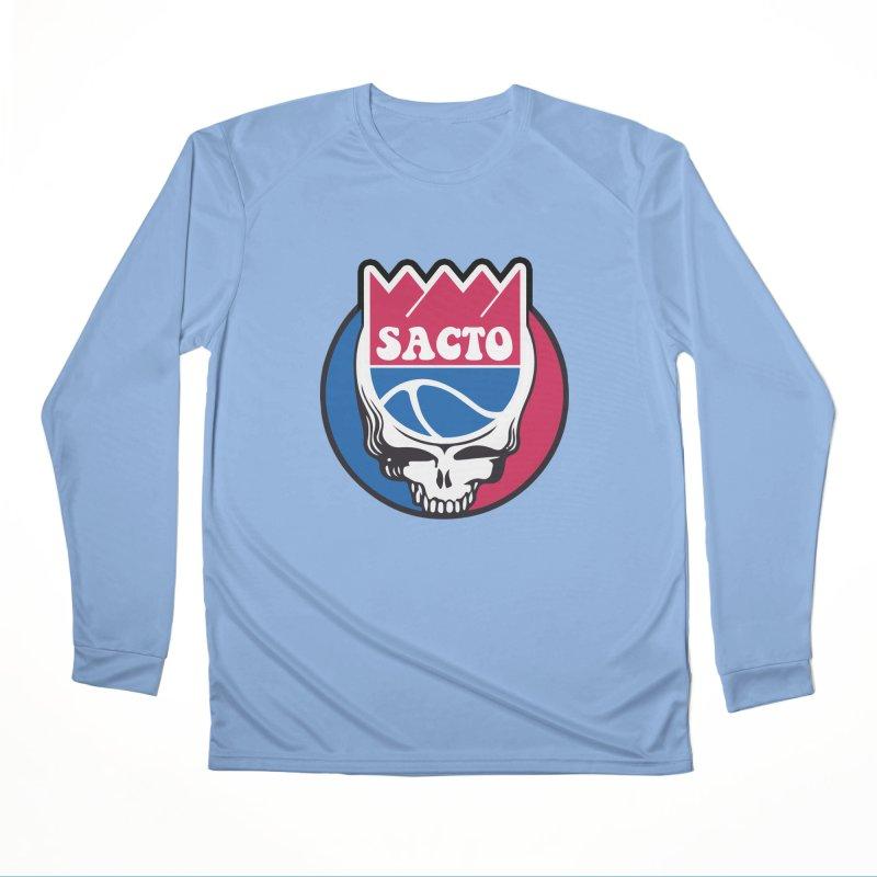 The Grateful Sacto Women's Longsleeve T-Shirt by Mike Hampton's T-Shirt Shop