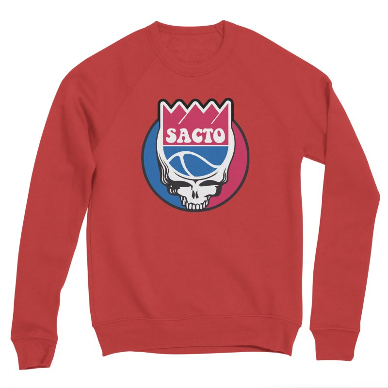 The Grateful Sacto Women's Sponge Fleece Sweatshirt by Mike Hampton's T-Shirt Shop