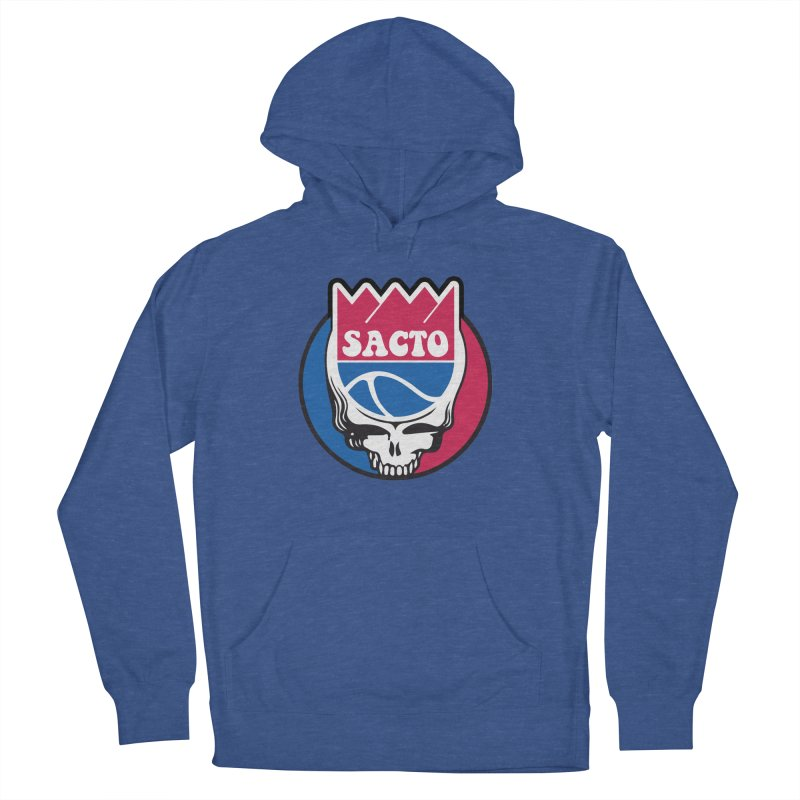 The Grateful Sacto Women's French Terry Pullover Hoody by Mike Hampton's T-Shirt Shop