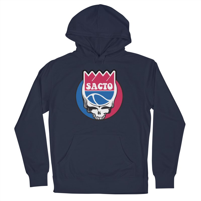 The Grateful Sacto Men's French Terry Pullover Hoody by Mike Hampton's T-Shirt Shop