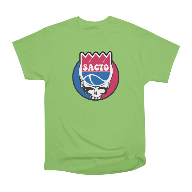 The Grateful Sacto Men's Heavyweight T-Shirt by Mike Hampton's T-Shirt Shop