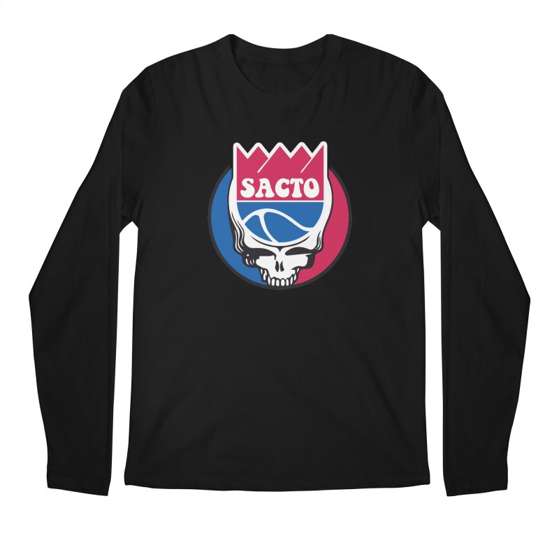 The Grateful Sacto Men's Regular Longsleeve T-Shirt by Mike Hampton's T-Shirt Shop