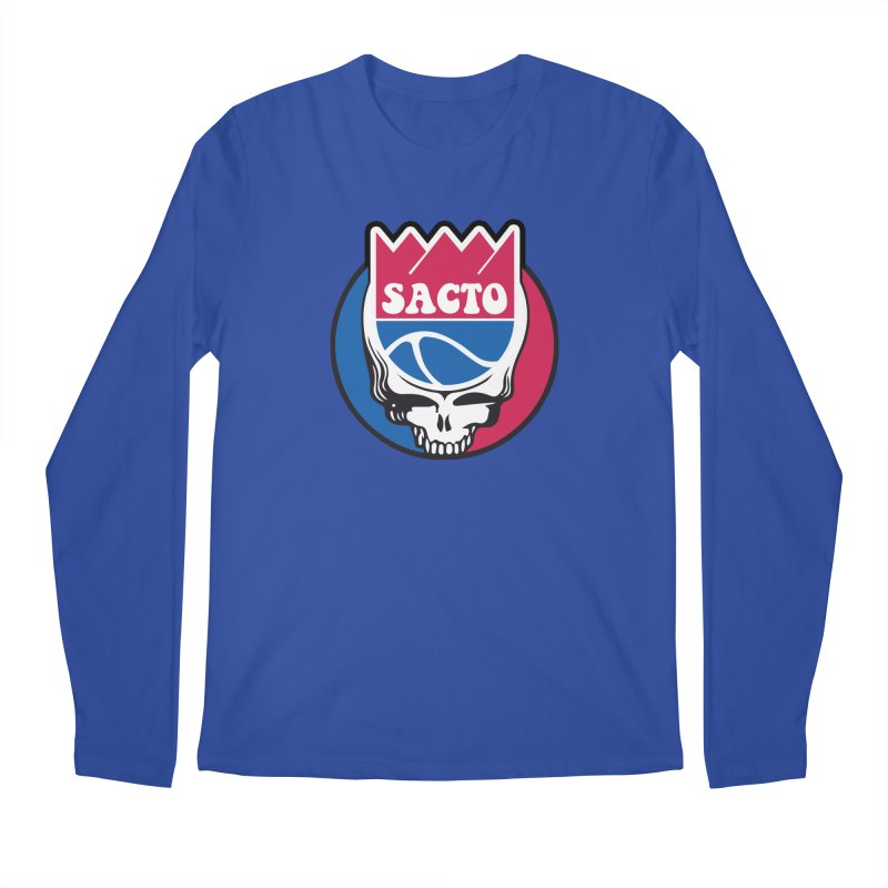 The Grateful Sacto Men's Regular Longsleeve T-Shirt by Mike Hampton's T-Shirt Shop