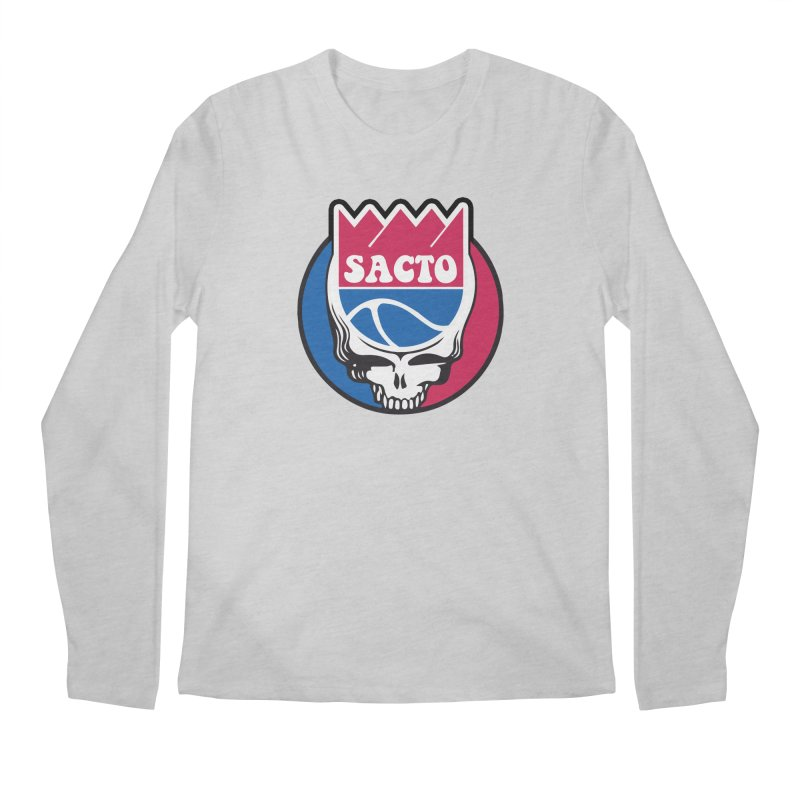 The Grateful Sacto Men's Longsleeve T-Shirt by Mike Hampton's T-Shirt Shop