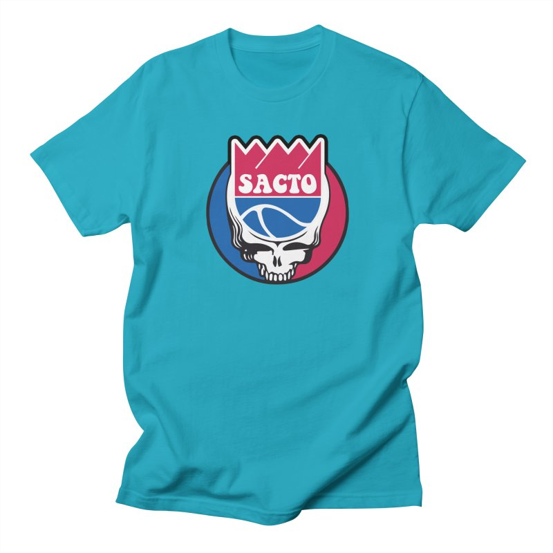 The Grateful Sacto Men's Regular T-Shirt by Mike Hampton's T-Shirt Shop