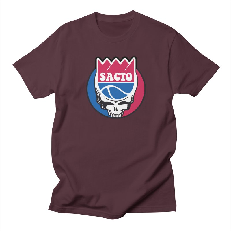 The Grateful Sacto Men's T-Shirt by Mike Hampton's T-Shirt Shop
