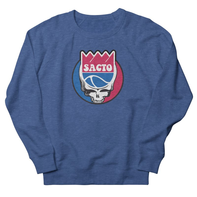 The Grateful Sacto Women's French Terry Sweatshirt by Mike Hampton's T-Shirt Shop