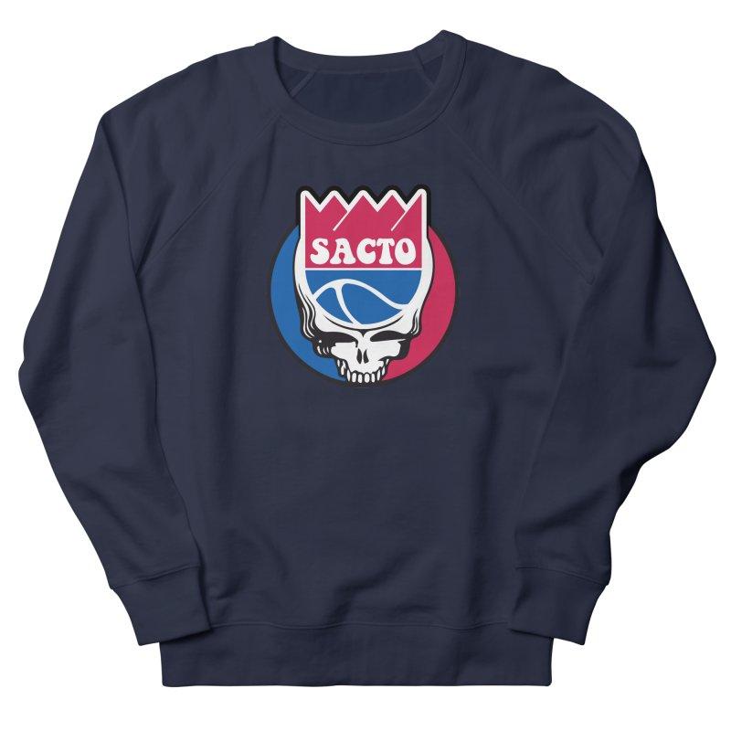 The Grateful Sacto Women's French Terry Sweatshirt by Mike Hampton's T-Shirt Shop