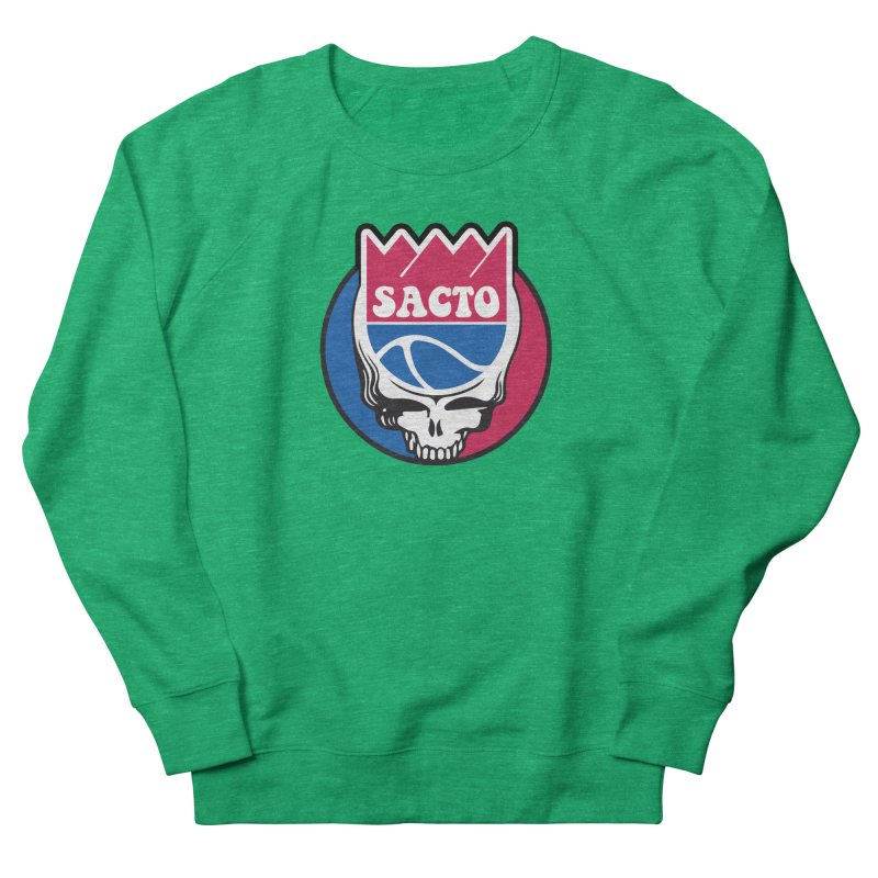 The Grateful Sacto Men's French Terry Sweatshirt by Mike Hampton's T-Shirt Shop