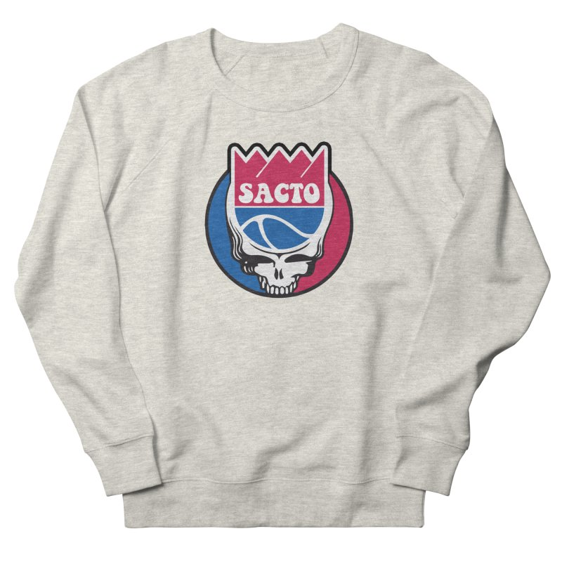 The Grateful Sacto Men's French Terry Sweatshirt by Mike Hampton's T-Shirt Shop