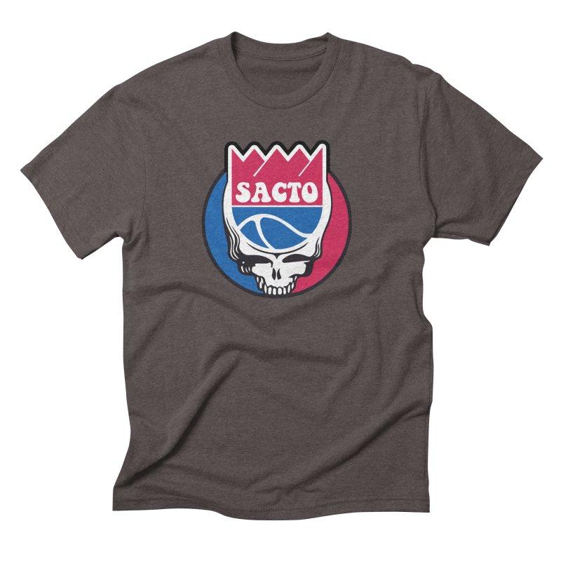 The Grateful Sacto Men's T-Shirt by Mike Hampton's T-Shirt Shop