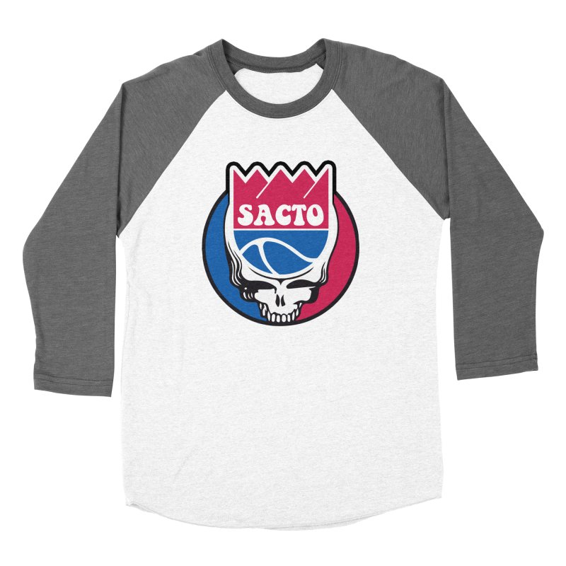 The Grateful Sacto Men's Baseball Triblend Longsleeve T-Shirt by Mike Hampton's T-Shirt Shop