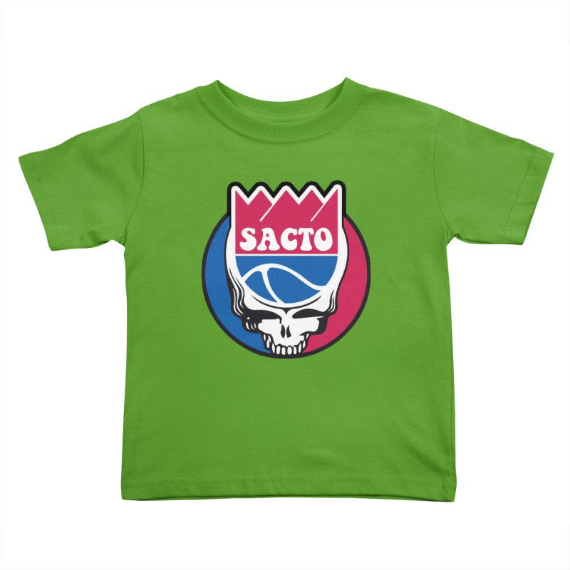 The Grateful Sacto Kids Toddler T-Shirt by Mike Hampton's T-Shirt Shop