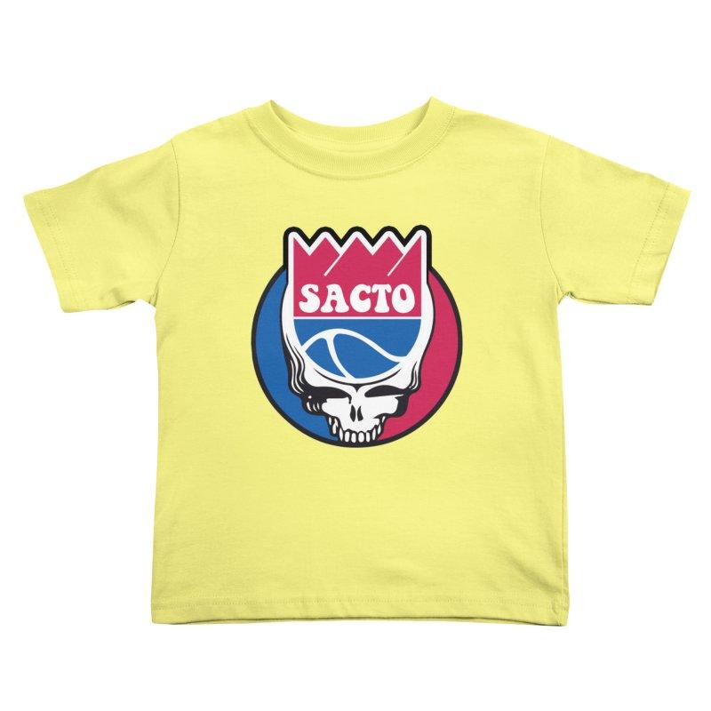 The Grateful Sacto Kids Toddler T-Shirt by Mike Hampton's T-Shirt Shop